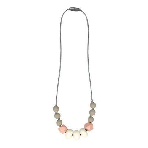 Blush Strand Teething Necklace ll Chew Necklace