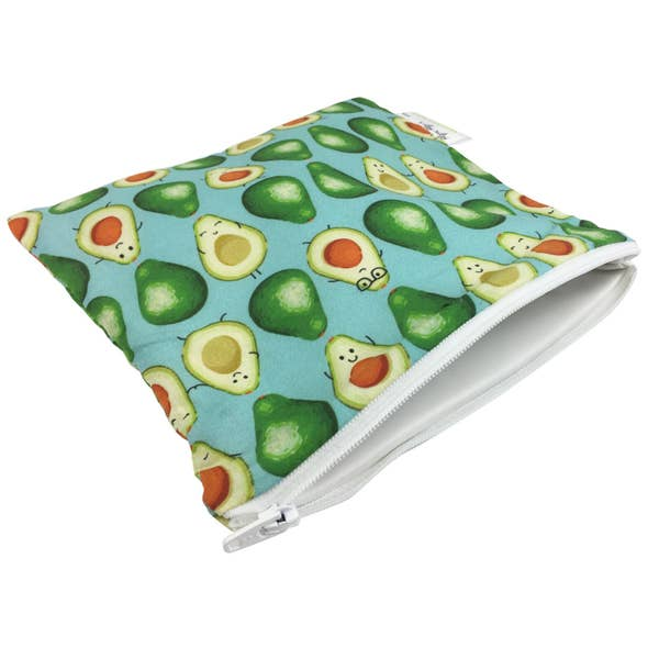 Avocado Snack Bag ll Travel Bags ll Snack Bag 1 Pack