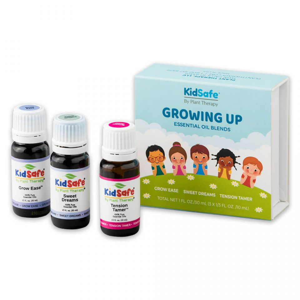 Growing Up Kids Safe Set ll Growing Pains ll Plant Therapy