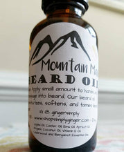 Mountain Man Beard Oil - SimplyGinger