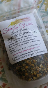 Organic Sweet Dreams Loose Tea - SimplyGinger