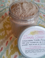 Tooth Powder - Raw Theobroma Cacao ( Chocolate ) - SimplyGinger