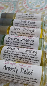 Cloud 9 ( Happy ) Uplifting Essential Oil Roller Ball Blend - SimplyGinger