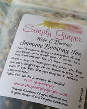 Organic Rose C Berries Immune Boost Syrup Kit - SimplyGinger