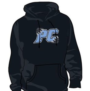 Hoodie-  Black PC Claws Sweathshirt