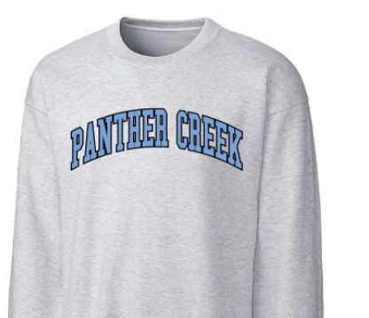 Panther Creek Grey Crew Neck Sweatshirt