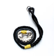 8mm Rope Leash in Grey/Natural/Black, Leashes, Jolly Hound, - Winnie Lou - The Canine Company