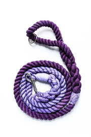 12mm Rope Leash in Lavender & Deep Purple, Leashes, Jolly Hound, - Winnie Lou - The Canine Company