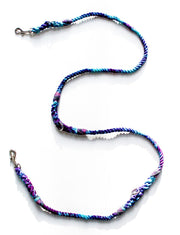 8mm Double-ended Rope Leash in Galaxy, Leashes, Jolly Hound, - Winnie Lou - The Canine Company