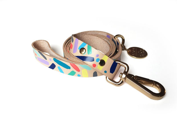 Confetti Dog Leash, Leashes, Nice Digs, - Winnie Lou - The Canine Company