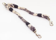12mm Rope Coupler in Galaxy Grey/Natural, Leashes, Jolly Hound, - Winnie Lou - The Canine Company