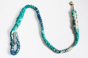 16mm Galaxy Rope Leash in Turquoise, Blue & Natural, Leashes, Jolly Hound, - Winnie Lou - The Canine Company