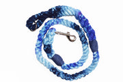 12mm Galaxy Rope Leash in Ice Blue, Royal Blue, & Navy, Leashes, Jolly Hound, - Winnie Lou - The Canine Company