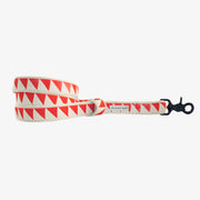 Nice Grill Leash in Cream & Vermillion, Leashes, See Scout Sleep, - Winnie Lou - The Canine Company