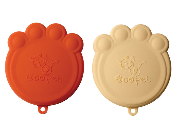 Pet Food Can Covers - Orange & Cream, Food & Drink Neccessities, Ore Pet, - Winnie Lou - The Canine Company