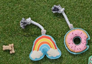 Rope Toy - Rainbow, Play, Ore Pet, - Winnie Lou - The Canine Company