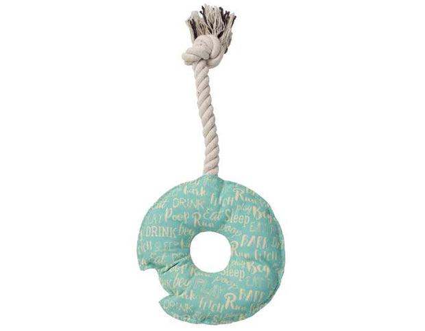 Rope Toy - Donut, Play, Ore Pet, - Winnie Lou - The Canine Company