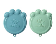 Pet Food Can Covers - Blue, Food & Drink Neccessities, Ore Pet, - Winnie Lou - The Canine Company