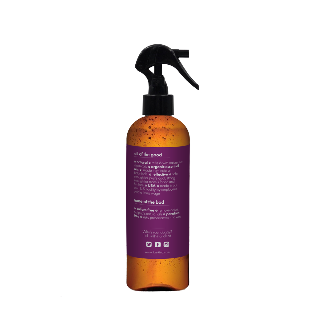 Pet Deodorizer in Lavender/Sage, Hygiene and Homegoods, Kin & Kind, - Winnie Lou - The Canine Company