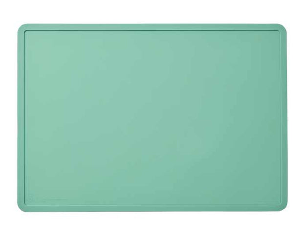 Silicone Food Mat in Jade, Food & Drink Neccessities, Ore Pet, - Winnie Lou - The Canine Company