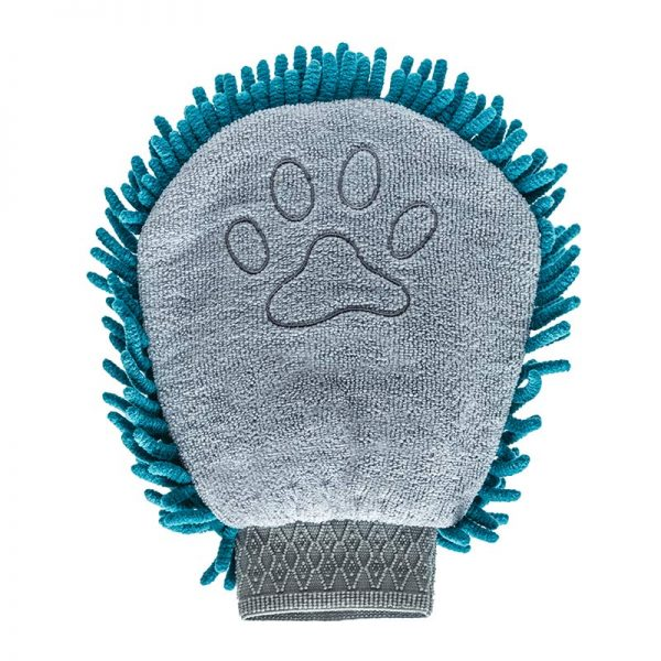 Microfiber Grooming Mitt, Hygiene and Homegoods, Messy Mutts, - Winnie Lou - The Canine Company