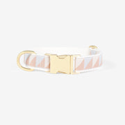 Nice Grill Collar in Ice Blue, Camel & Ivory, Collars, See Scout Sleep, - Winnie Lou - The Canine Company