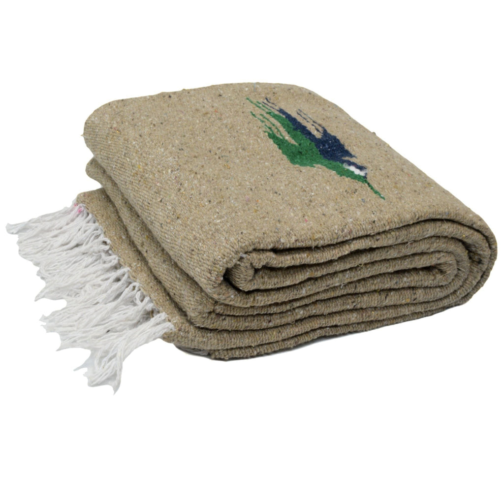 Thunderbird Dog Blanket in Khaki, Blankets, West Path, - Winnie Lou - The Canine Company
