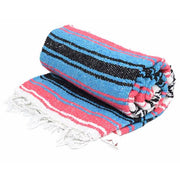 La Playa Dog Blanket in Teal & Pink, Blankets, West Path, - Winnie Lou - The Canine Company