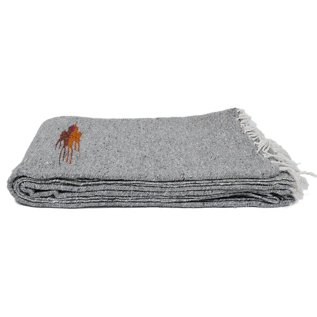Thunderbird Dog Blanket in Grey, Blankets, West Path, - Winnie Lou - The Canine Company