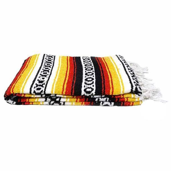 La Playa Heavy Knit Dog Blanket in Sunflower, Blankets, West Path, - Winnie Lou - The Canine Company