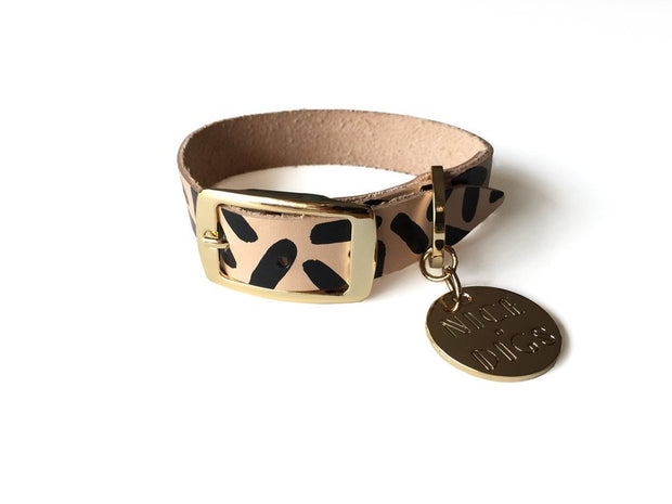 Tiggy Dog Collar in Black, Collars, Nice Digs, - Winnie Lou - The Canine Company