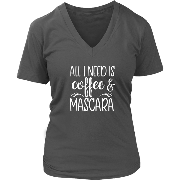 Coffee & Mascara VNeck