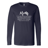 Mom Definition Long Sleeve