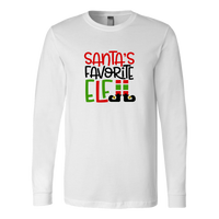 Santa's Favorite Elf Long Sleeve