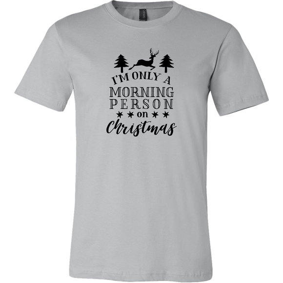 Christmas Morning Person TShirt