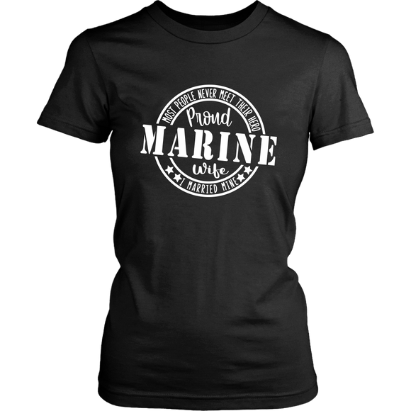 Proud Marine Wife