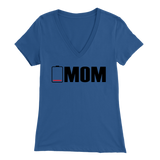 Low Battery Mom VNeck