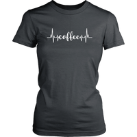 Coffee Heartbeat TShirt