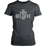 Believe Cross TShirt
