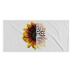 Wild & Free Sunflower Towel