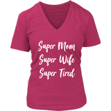 Super Mom VNeck