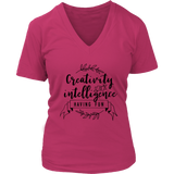 Creativity is Intelligence VNeck