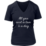 Love & A Dog VNeck