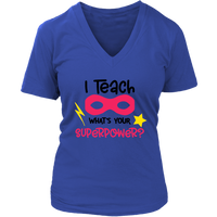 Teacher Superpower VNeck