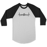 Coffee Heartbeat Raglan