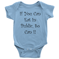 Eat in Public Onsie