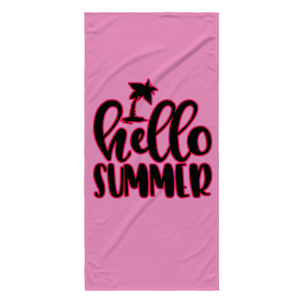 Hello Summer Towel