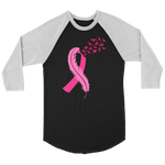 Breast Cancer Ribbon Raglan