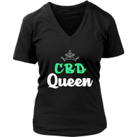 CBD Queen VNeck