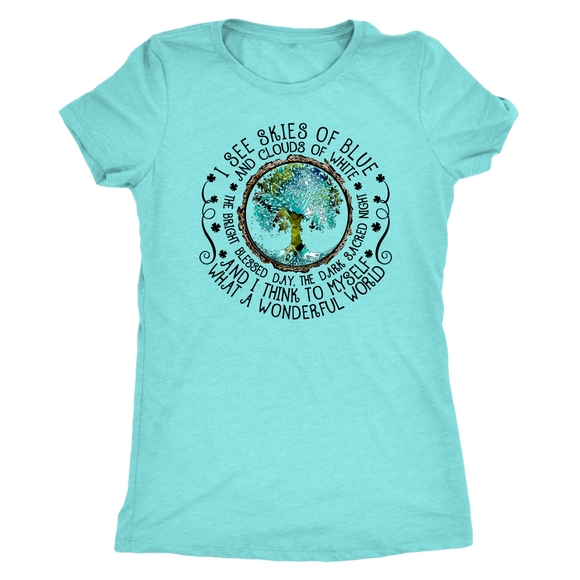 What A Wonderful World TShirt